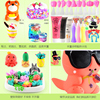 Ultralight clay color clay 24 color 36 non-toxic plasticine suit girl space snowflake cream clay children's toys