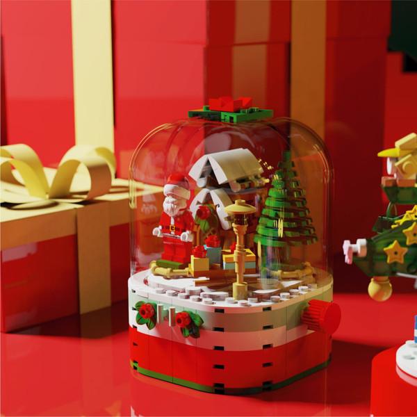森宝圣诞系列发光积木