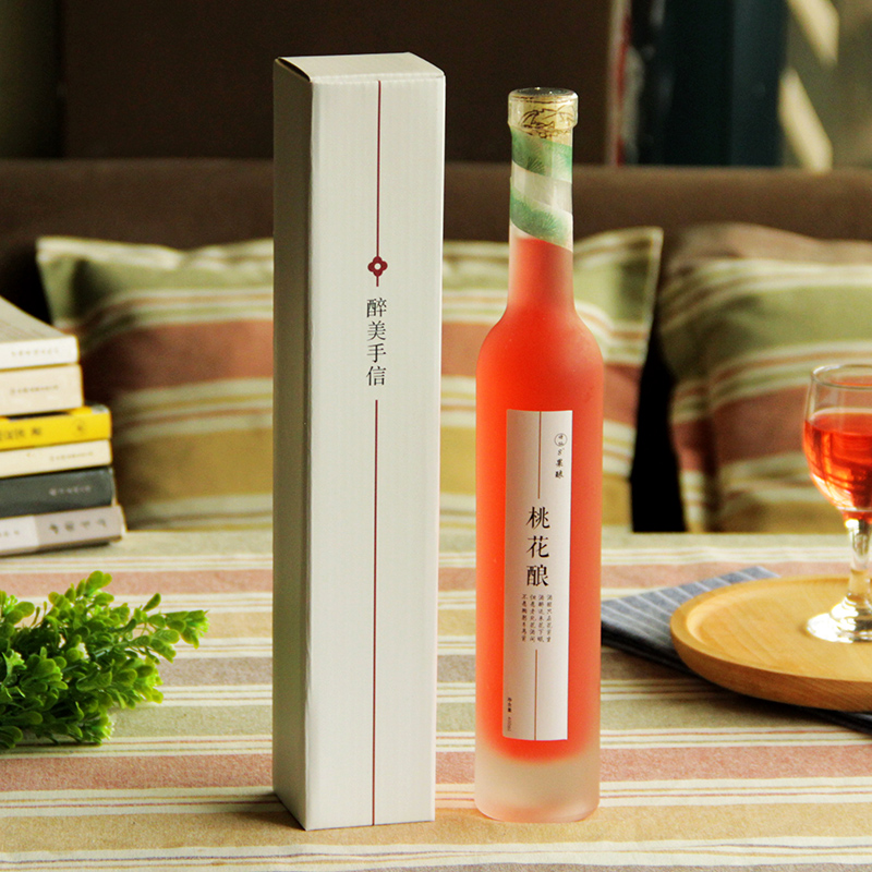 Usd 2154 Peach Wine Peach Stuffed Flower Fruit Wine Peach Drunk