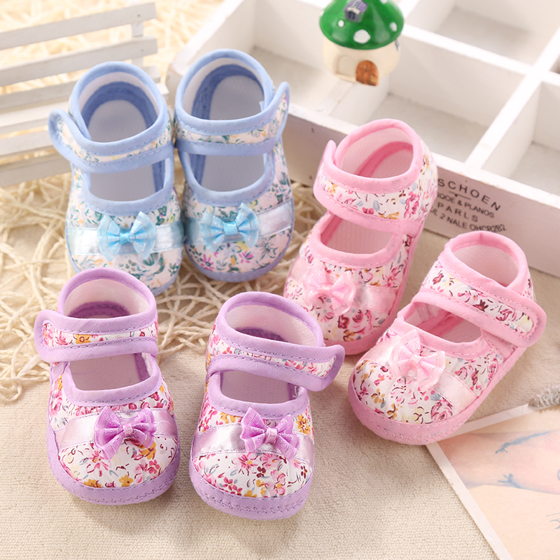 0-1 years old baby shoes 3 months spring and autumn summer sandals soft  bottom bc0ad4ee83a2