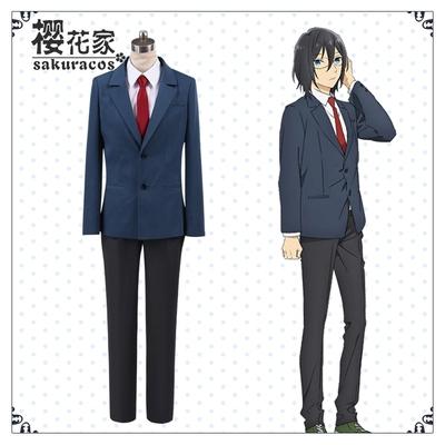 taobao agent Spot【Sakura House】Hori and Miyamura cos Miyamura Yicheng school uniform cosplay costume anime costume