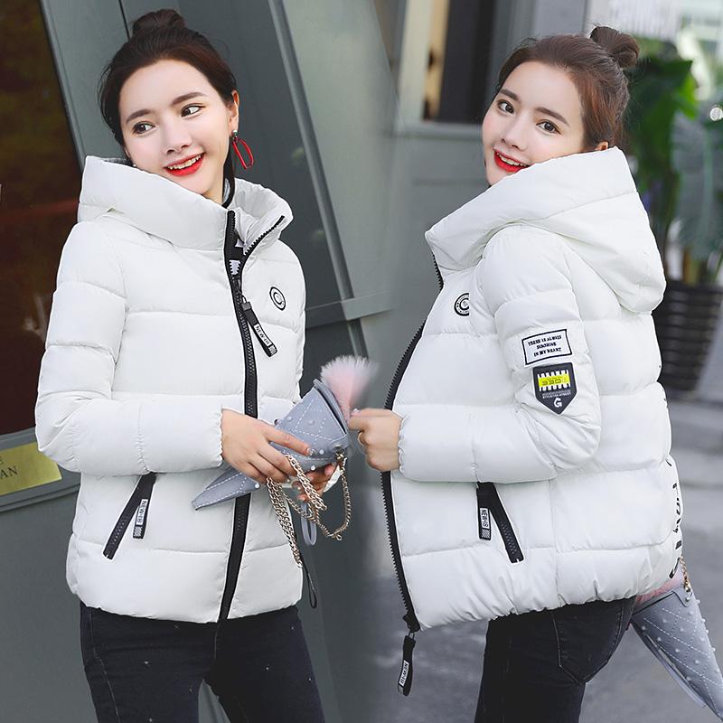2020新款修身女装棉服短款棉衣显瘦棉袄青年学生装冬季百搭外套