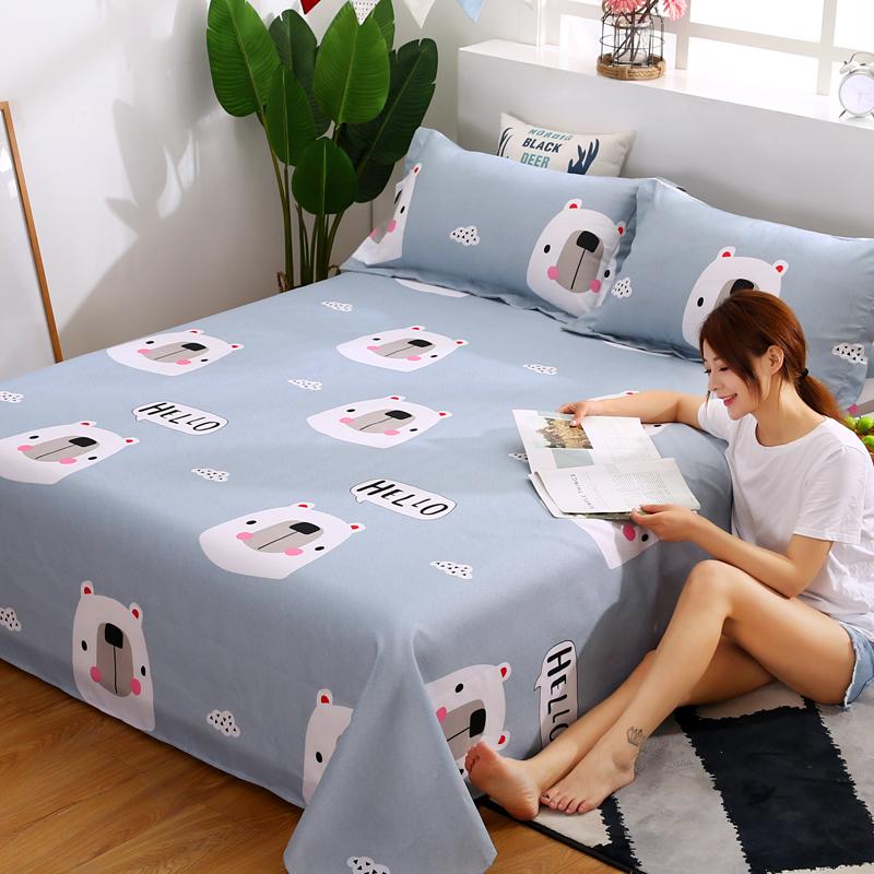 Shengti mùa hè tấm đơn ký túc xá sinh viên 1.2 m giường đơn 1.5m1.8 m giường đôi con duy nhất