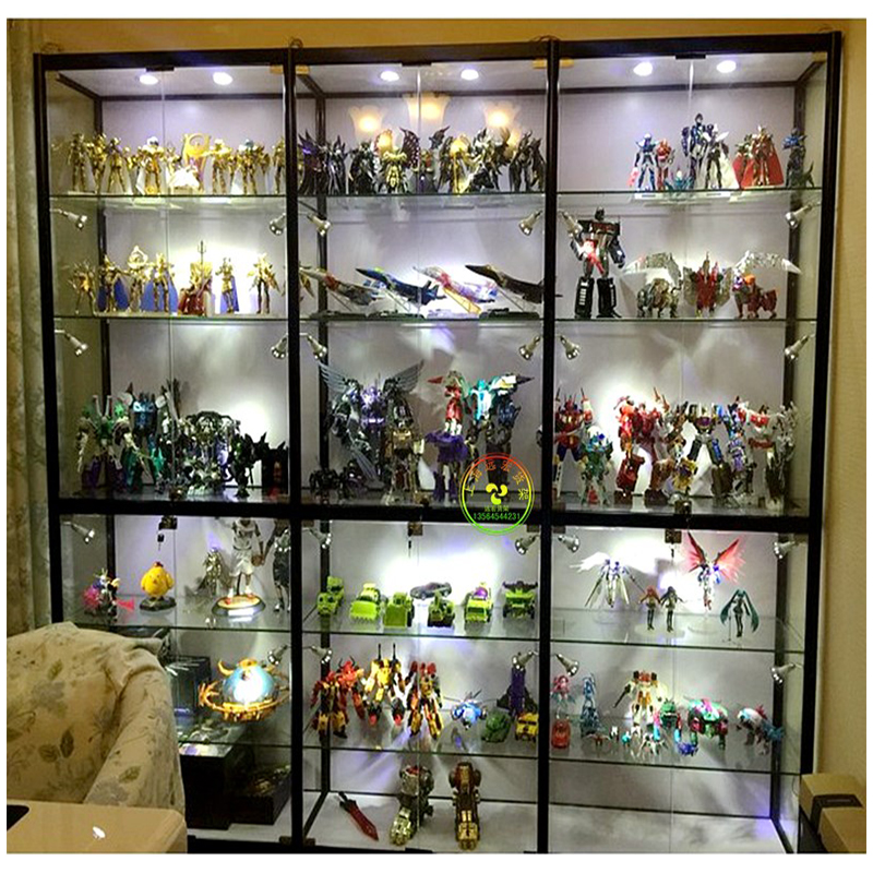 Shanghai Hand Made Display Cabinet Household Dust Proof Toy Model Box Glass  Glass Display Cabinet Jewelry LEGO ...