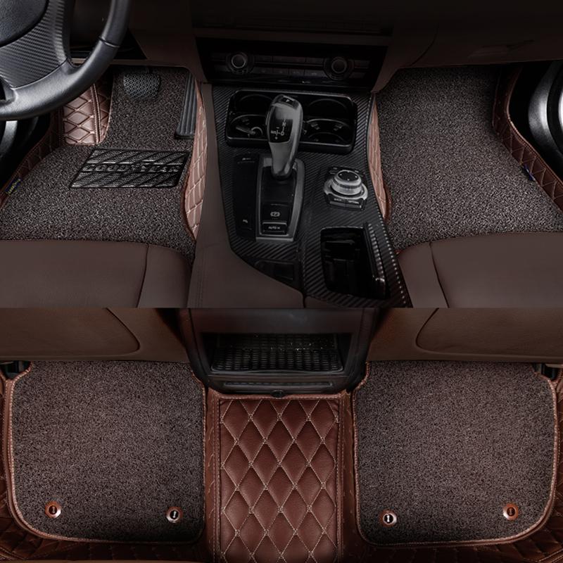 羊毛地毯脚感,手工定制!美国固特异 全包围地毯式汽车脚垫