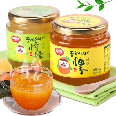 福事多蜂蜜柚子茶柠檬茶1Kg