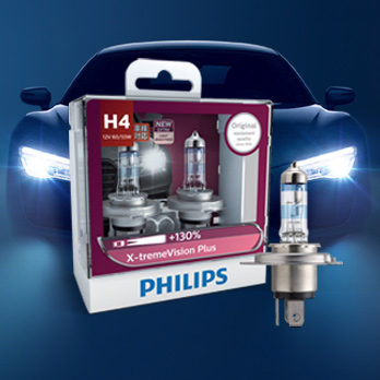 Philips Night Light H1H4H7 Yellow White Light High Beam Headlights  Headlights Car Headlights Automotive Bulb Halogen ...