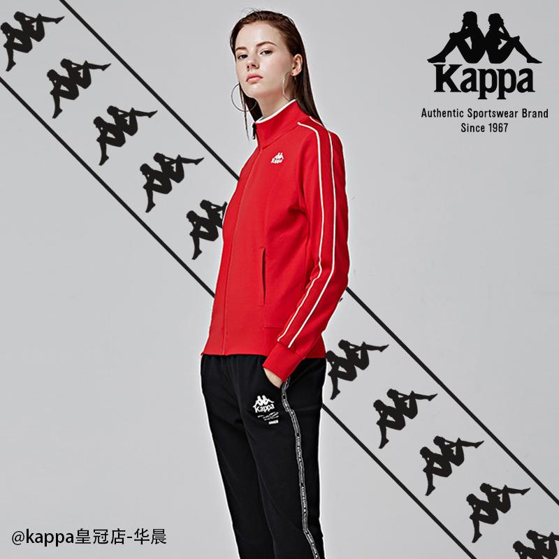 KAPPA背靠背卡帕女运动外套立领开衫休闲夹克 2018新品K0862WK01