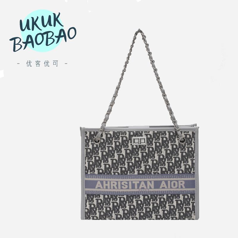 UKUK/优客优可小众设计2020新款子母包网红链条包潮单肩斜挎女包