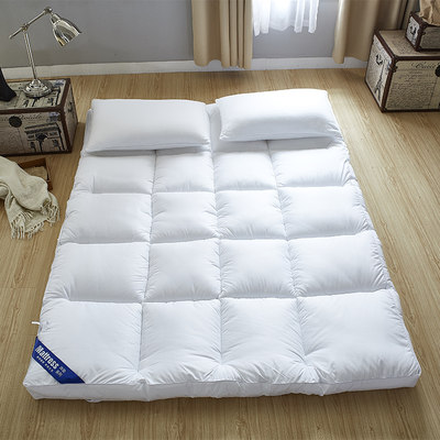 Five-star hotel super soft 10cm mattress cushion thick warm bed cushion is housed in winter bed mattresses