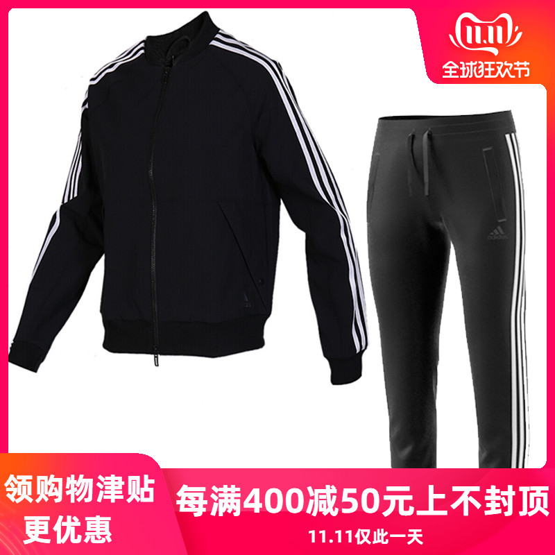 Adidas 2019 Autumn New Women's Sports Training And Leisure Set FK3511 EH3896