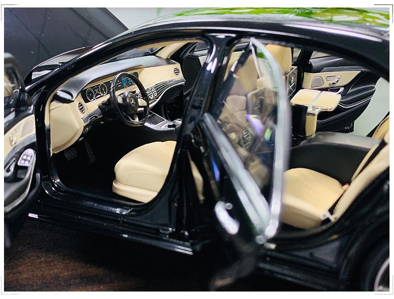 Xe mô hình tĩnh Mercedes-Benz S450L tỉ lệ 1:18 - ảnh 9