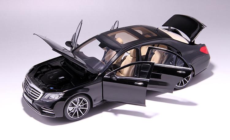 Xe mô hình tĩnh Mercedes-Benz S450L tỉ lệ 1:18 - ảnh 14
