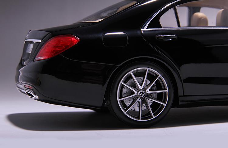 Xe mô hình tĩnh Mercedes-Benz S450L tỉ lệ 1:18 - ảnh 30