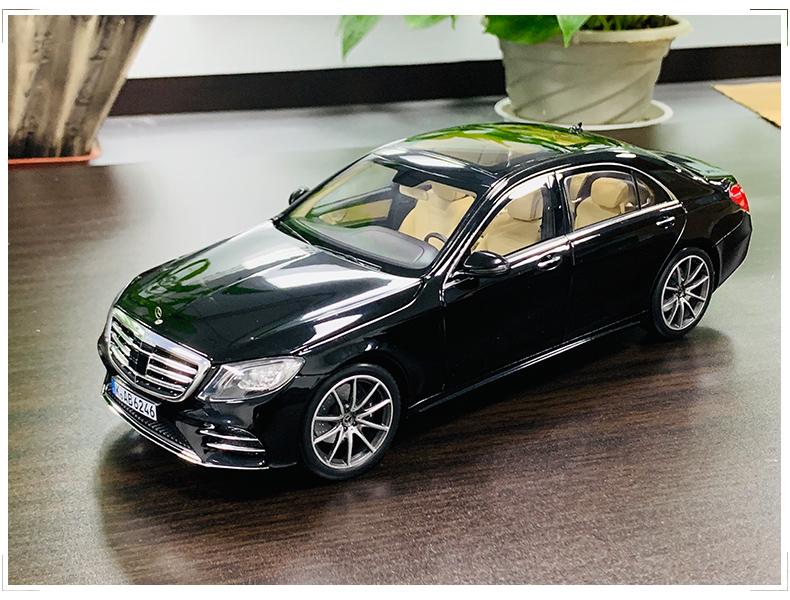 Xe mô hình tĩnh Mercedes-Benz S450L tỉ lệ 1:18 - ảnh 6