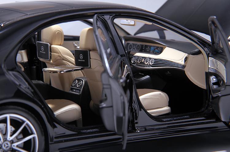 Xe mô hình tĩnh Mercedes-Benz S450L tỉ lệ 1:18 - ảnh 27