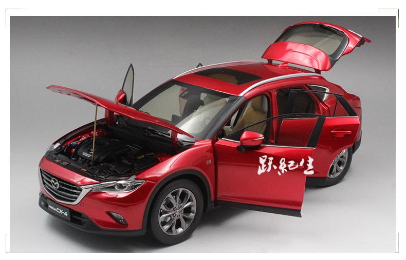Xe mô hình tĩnh Mazda CX4 tỉ lệ 1:18 - ảnh 10