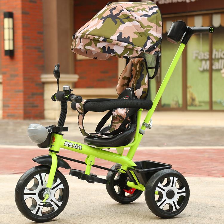 儿童三轮车脚踏车岁大号婴幼儿手推车男女宝宝自行车童车详细照片