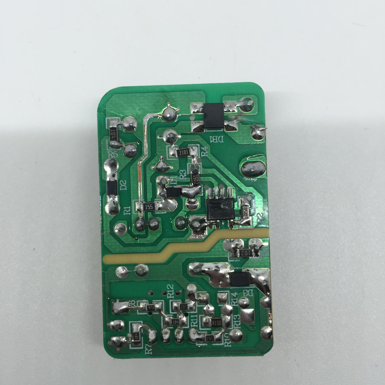 这是什么方案的充电器呢,芯片磨了