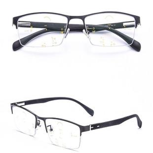 自动变焦远近两用老人高清老花眼镜