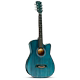 41 inch folk acoustic guitar beginners practice 38 inch retro guitar students men and women novice jita instrument