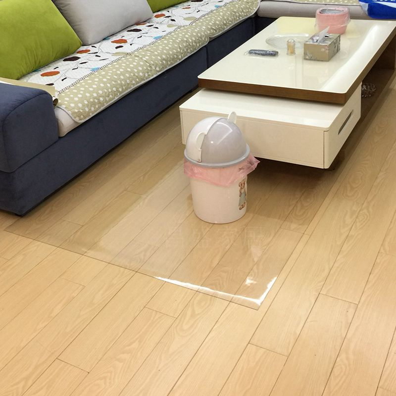 Transparent Floor Mat Living Room Kitchen Bedroom Plastic