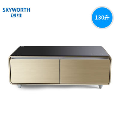 Skyworth Bc 130gy Smart Home Coffee Table Refrigerator