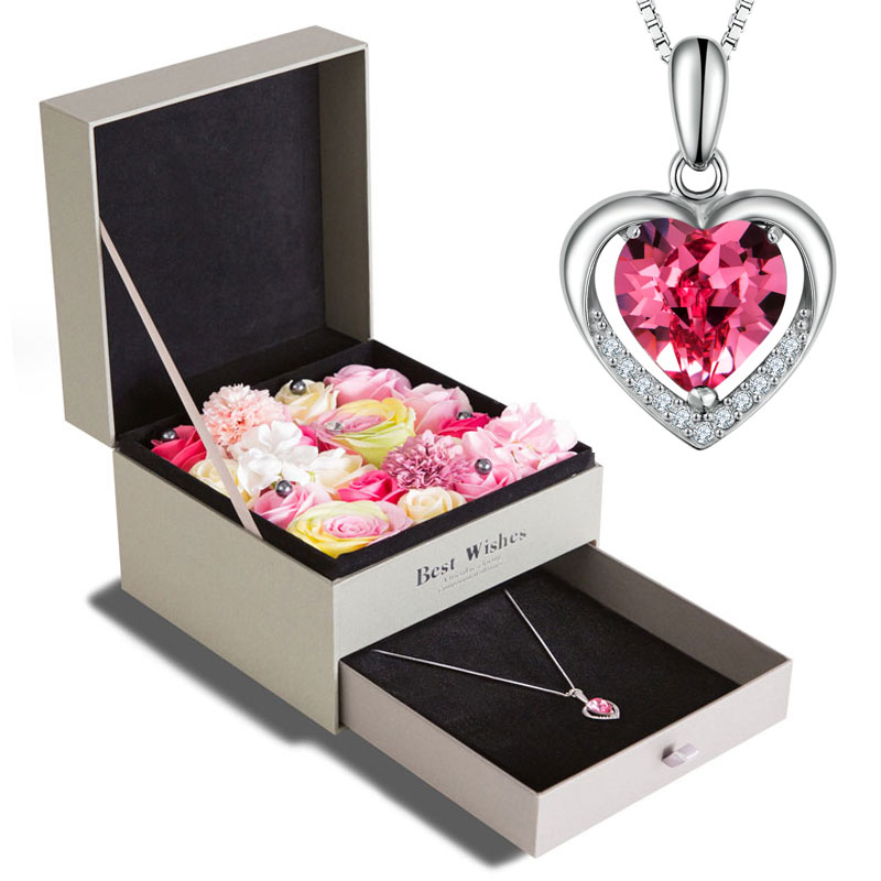 Size Description Exquisite gift box packaging  sc 1 st  ChinaHao.com & USD 106.46] Valentineu0027s Day gift to send his girlfriend creative ...