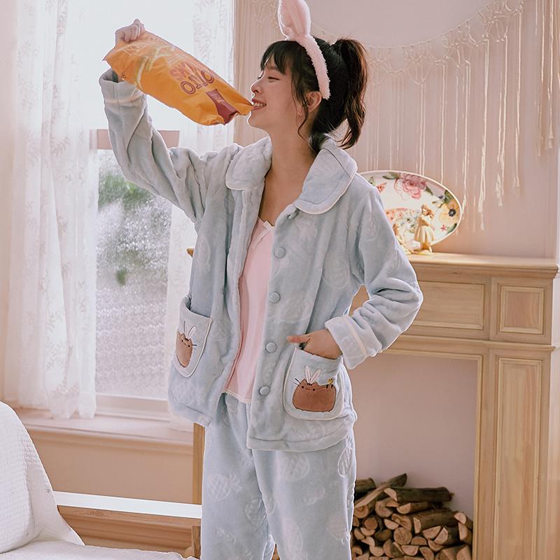 千线艺 加厚珊瑚绒 女式睡衣 天猫优惠券折后¥79包邮(¥139-60)
