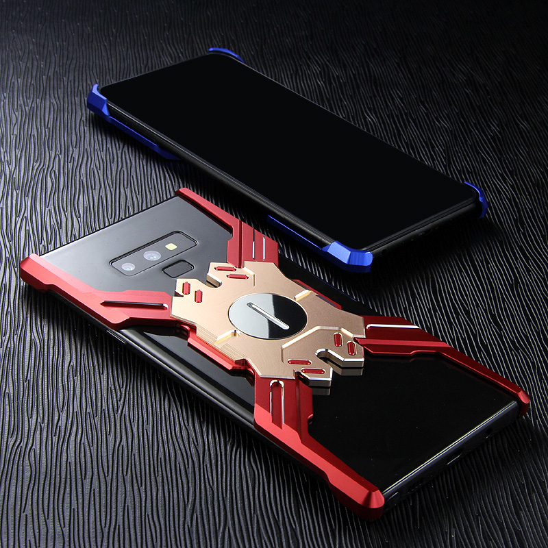 Kylin Armor Heroes Bracket Aluminum Metal Shell Case Cover for Samsung Galaxy Note 9 & Samsung Galaxy Note 8