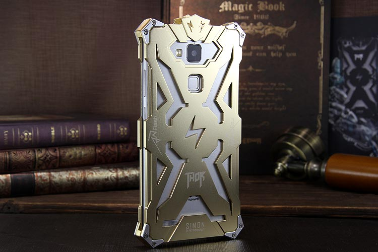 SIMON THOR Aviation Aluminum Alloy Shockproof Armor Metal Case Cover for Huawei  Mate 8 & Huawe Mate 7 & Huawei Mate S