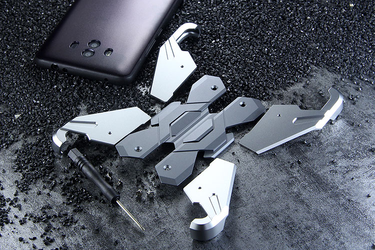 Luphie Neo Armor EVA Wings Shockproof TPU Metal Case Cover for Huawei Mate 10 & Huawei Mate 10 Pro