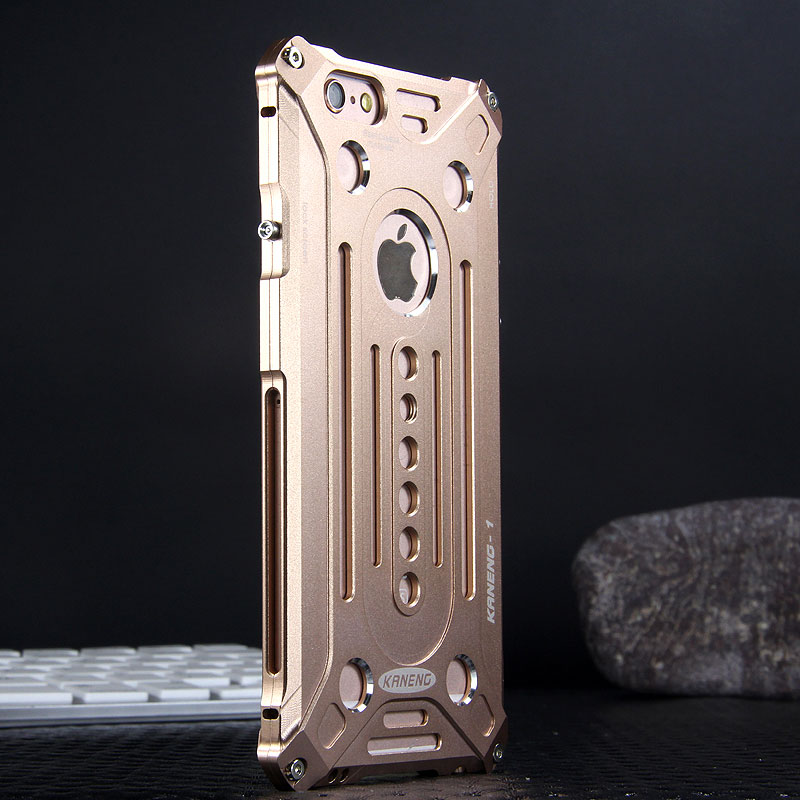 KANENG Powerful Aluminum Shell Shockproof Aerospace Metal Case Cover for Apple iPhone 6S/6 & iPhone 6S Plus/6 Plus