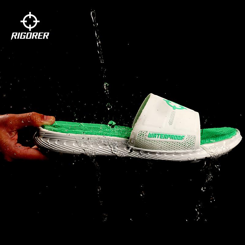 准者运动拖鞋男士室内外凉鞋篮球沙滩防水洗澡堂潮户外休闲品牌女