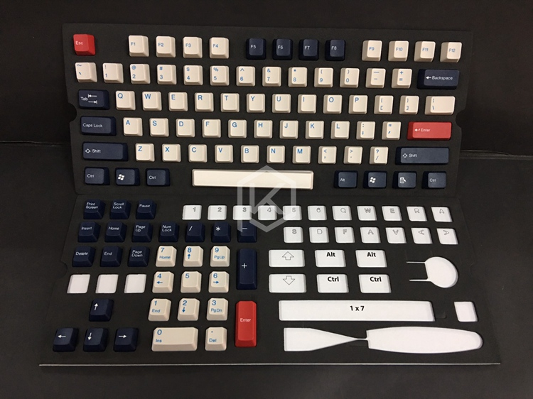 Taihao Taihao two-color forming keycap two-color injection