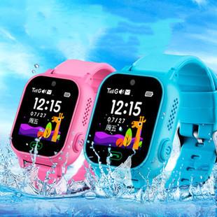 卡兮兮防水兒童電話手表智能定位中小學生兒童天才多功能手機可愛男孩女孩拍照觸摸可插卡雙向通話運動手環