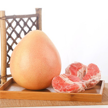 4-5 Jin three red Fujian Juxi honey pomelo three red pomelo gift box