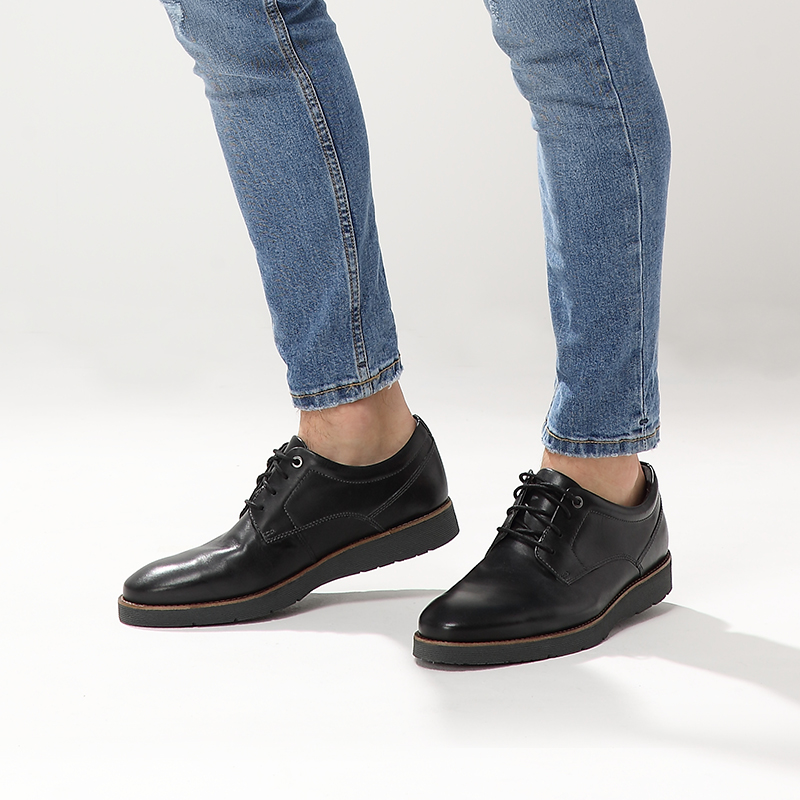 clarks its music men's shoes British comfortable men's shoes business shoes Folcroft Plain casual shoes men