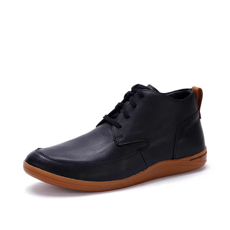 00758459 clarks its music casual shoes outdoor boots trend men's shoes first layer  of leather Mapped Hi comfortable boots leather shoes