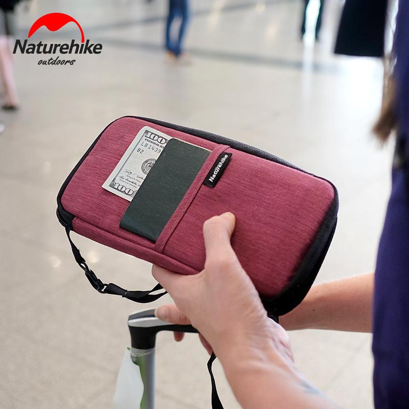 c9097fffa474f حزمة مستند متعدد الوظائف من NH Mover حزمة جواز السفر تخزين حقيبة بطاقة ماء  محفظة حامل ...
