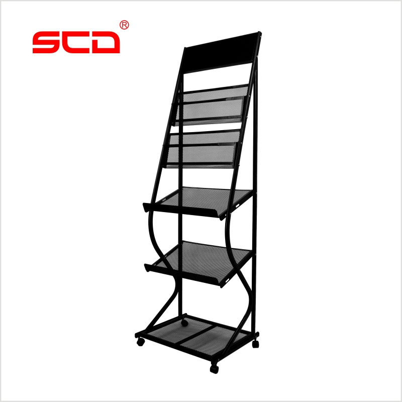 SCD Data Frame T Magazine Rack Newspaper Rack Magazine Rack Newspaper  Storage Rack Office Propaganda Rack ...
