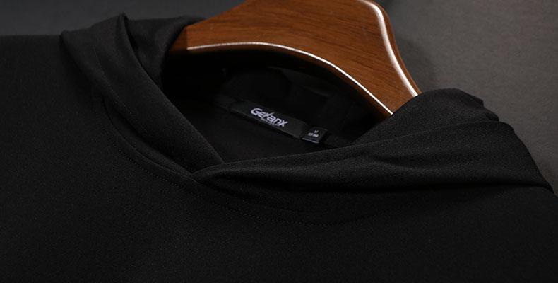 GENANX sét tide thương hiệu quá khổ áo gió áo khoác lỏng trùm đầu 2018 mùa xuân mới trùm đầu áo gió nam