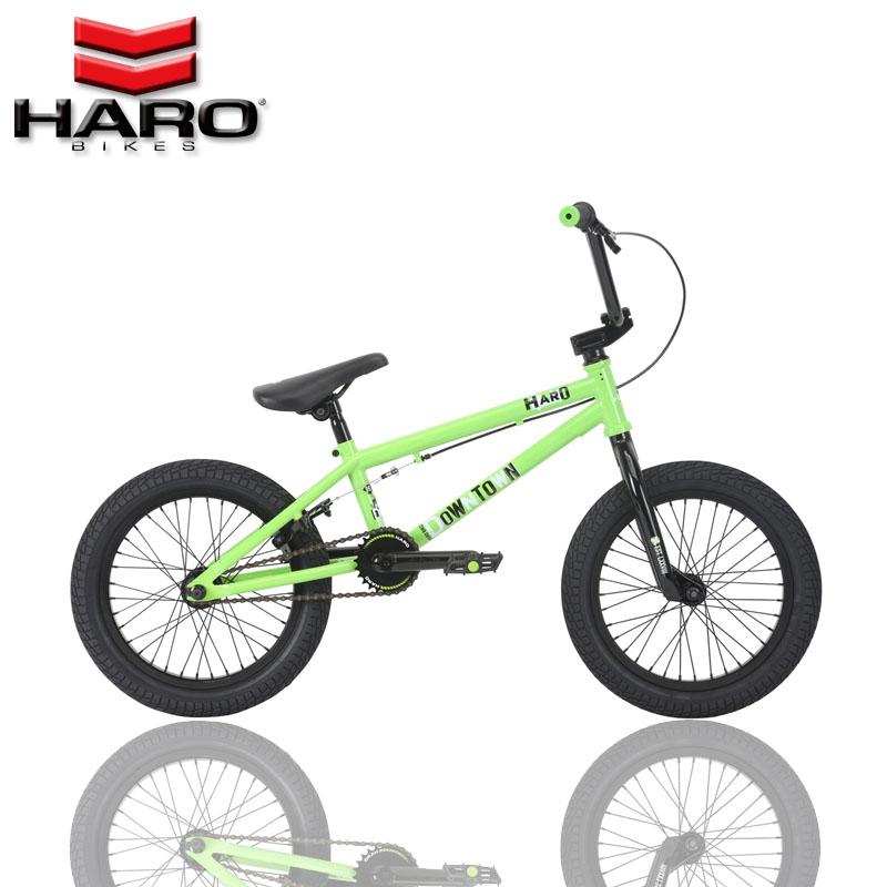 18 год HARO DOWNTOWN 16 дюймовый /18 дюймовый BMX паром автомобиль начального уровня маленький друг производительность велосипед
