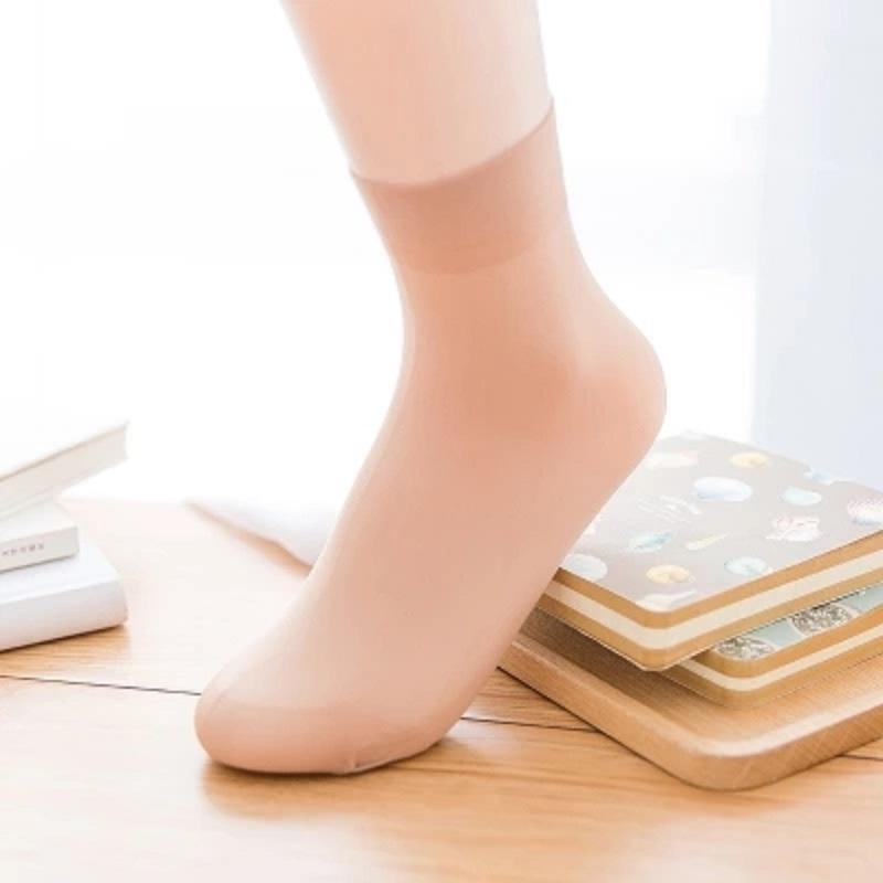 【30双装】爆款女士小辣椒天鹅绒短丝袜夏-优惠后5元包邮