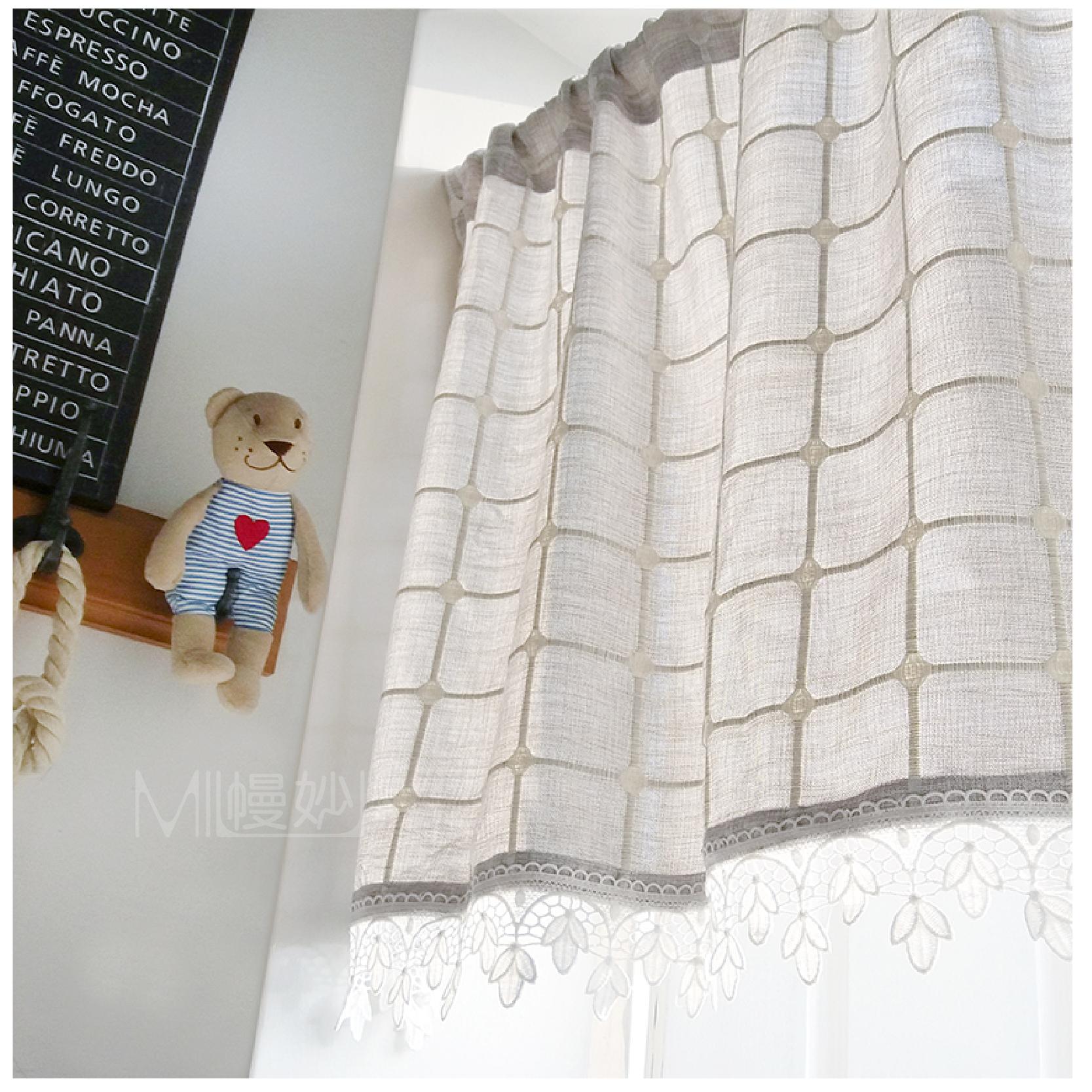 Usd 13 77 Door Curtain Cotton Lattice Japanese Wild Size