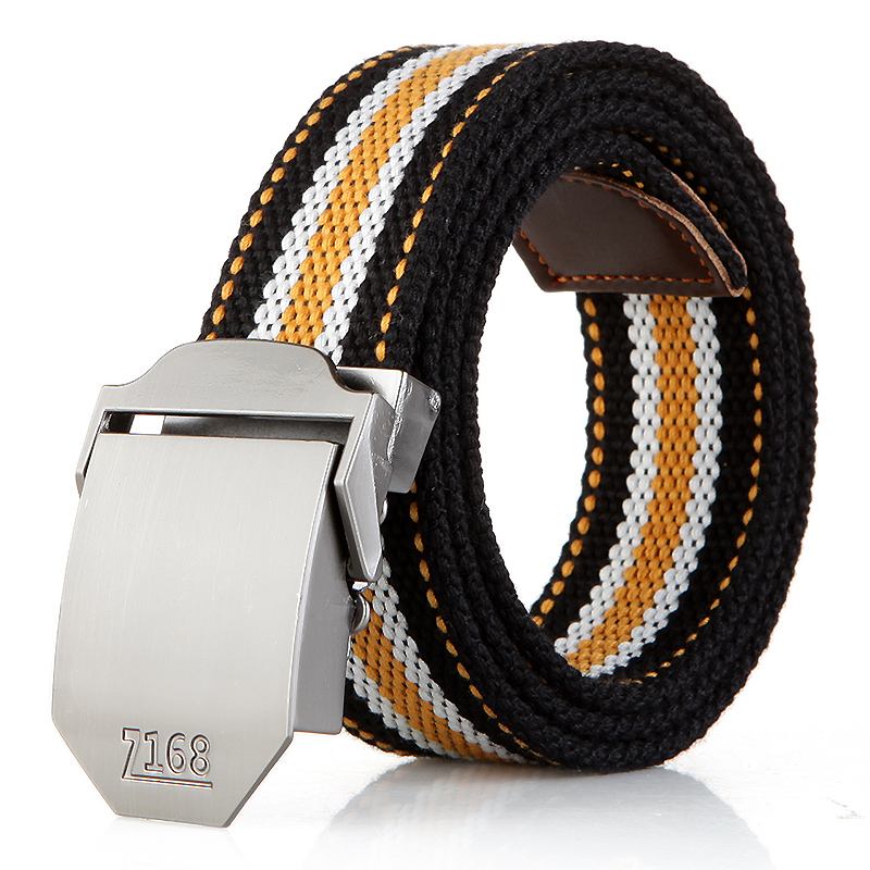 N17 168 buckle yellow stripes