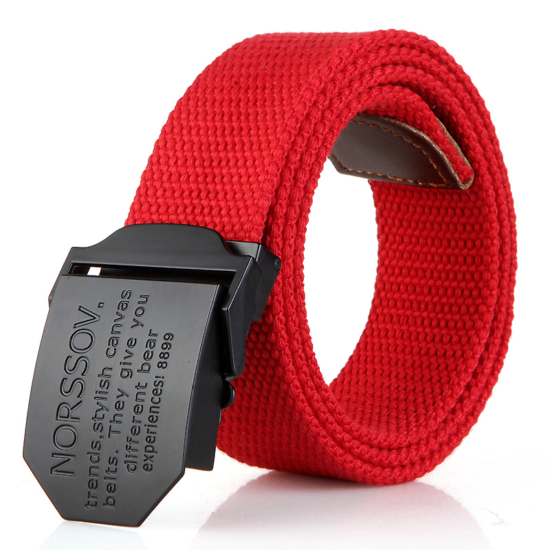 N17 black buckle red
