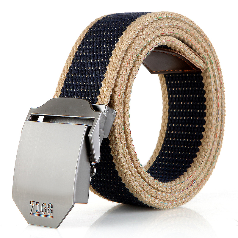 N17 168 buckle blue stripes