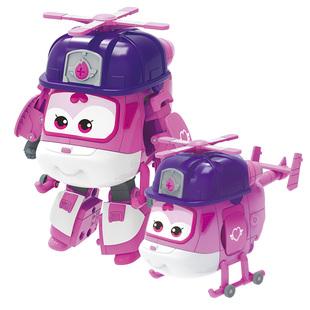 奥迪双钻超级飞侠玩具包警长机器人