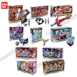 Spot Bandai Taiga Ultraman Wind Matetas Key Ring Light Decoration Taiga Spark Transformer